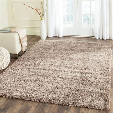 safavieh california rug safavieh california shag taupe 9 ft 6 in x 13 ft area