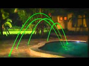 pentair swimming pool deck jets with led lights youtube