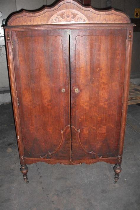 Dresser Wardrobe Furniture by Antique Wardrobe Armoire Chifferobe Dresser Closet