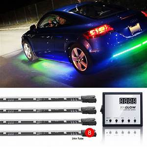 Color Changing Under Car Truck Boat Underglow 8 24in Tubes
