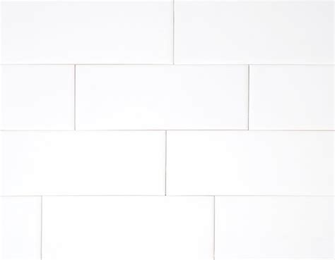 "Hammersmith Subway Tile White  3""x6"" Gloss"