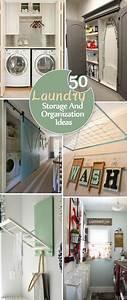 50, Laundry, Storage, And, Organization, Ideas, 2017