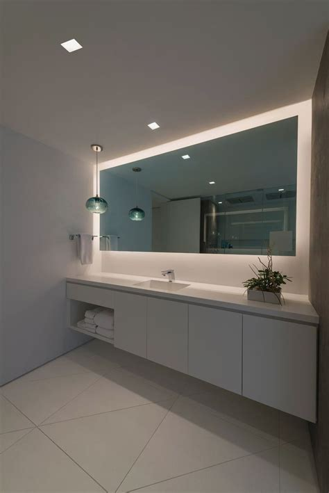 led mirror light  mirror long mirror bathroom