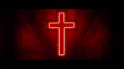 Neon Cross Aesthetic Wallpapers Grunge Religion Gothic