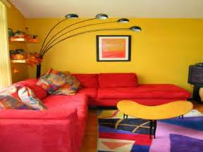 red and yellow living room ideas home decor