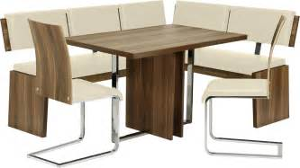 Metal Dinette Chairs by White Leather Corner Breakfast Kitchen Nook Dining Set Ebay