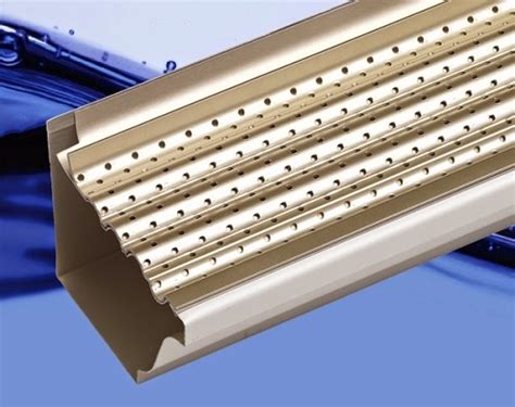 decorating with leaf guards a gutters