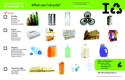Recycle... What Goes In Your Blue Bin?