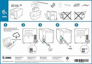 Zc10l Card Printer User Manual Zebra Zc10l Setup Guide