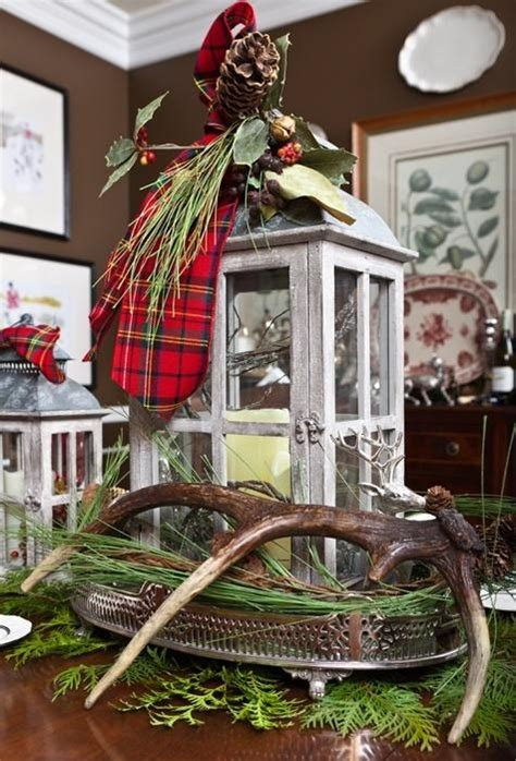 deer antlers and plaid for christmas 22 best deer antler decor images on deco la la la and merry