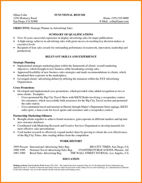 4 statement of qualifications exle letter case