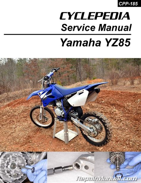 motocross bike repairs yamaha yz85 printed motorcycle service manual cyclepedia