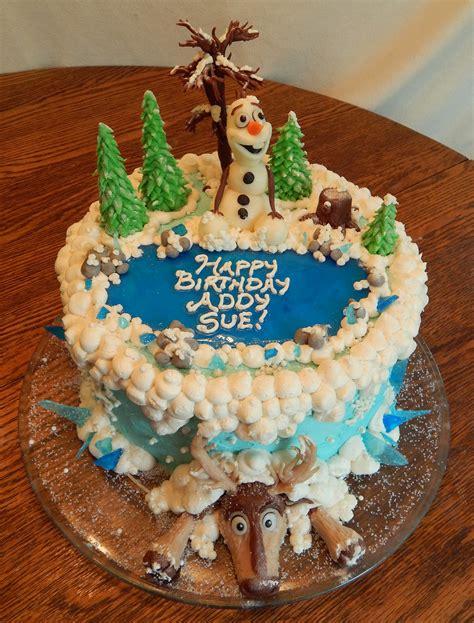 frozen cake cakecentralcom
