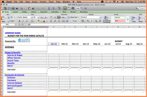 12+ Spreadsheet Examples For Small Business