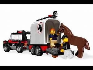 Vidéos De Lego : lego city 4x4 con remolque para caballos lego juguetes infantiles youtube ~ Medecine-chirurgie-esthetiques.com Avis de Voitures