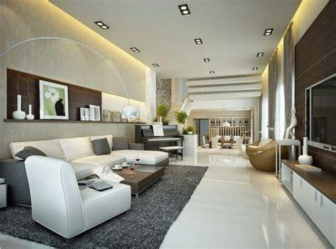como decorar una sala grande moderna