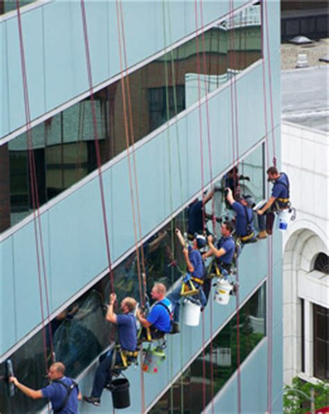 Boatswain Chairs For Window Cleaning by High Rise Commercial Window Cleaning Roof Cleaning