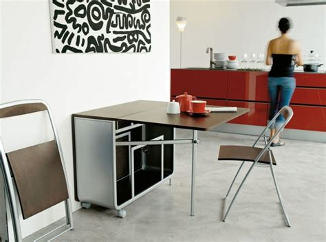 cuisine meubles bas table murale rabattable à faire chez soi en 20 idées créatives