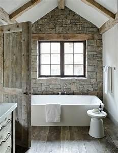 le theme du jour est la salle de bain retro With salle de bain design avec plaque décorative métal