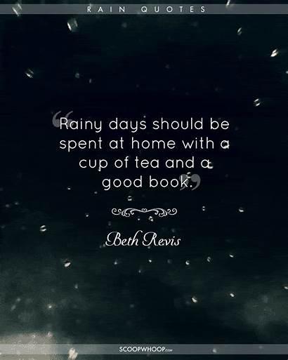 Rain Quotes Hindi Tea Winter Monsoon Happy