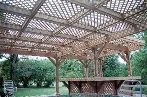 Free Standing Wood Pergola Plans
