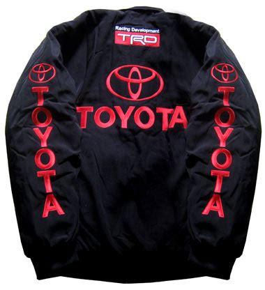 (mjsb7114) Toyota Trd Top Quality Black Jacket, Car