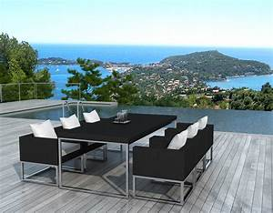 Idees deco tables de jardin terrasses salons de jardin for Deco design jardin terrasse 10 decoration salon de the design