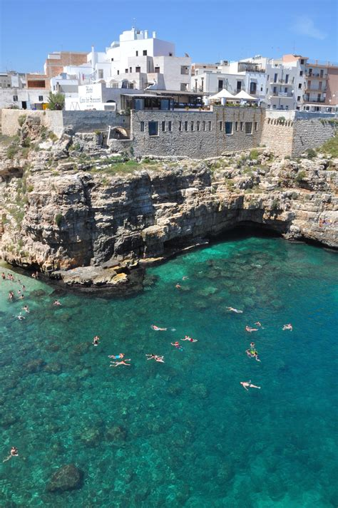 Polignano A Mare And Beach Puglia Italy Itaレia In 2019