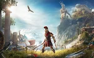 Wallpaper Assassin's Creed: Odyssey, Alexios, E3 2018, 4K ...