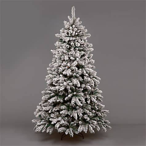 buy snow capped christmas pine tree  christ