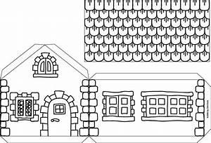 Haus Basteln Pappe Vorlage : hexenhaus aus karton bastelfrau ~ Eleganceandgraceweddings.com Haus und Dekorationen