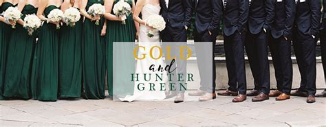 Gold and Hunter Green Wedding Color Palette   LinenTablecloth