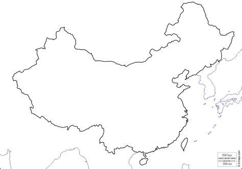 China Map Black And White Wwwimgkidcom The Image Kid