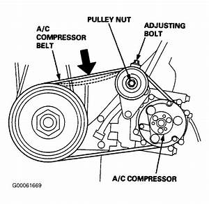 1998 Honda Odyssey Serpentine Belt Routing And Timing Belt