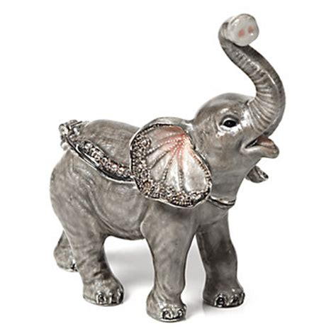 baby elephant trinket box jewelry boxes holders