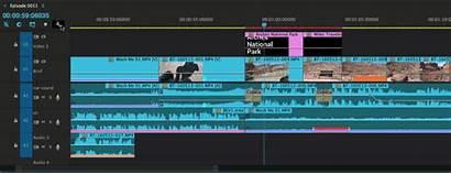 Timeline Premiere Pro Thumbnails Customize Clip Display