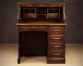 Small Antique Roll Top Desk  Antique Furniture