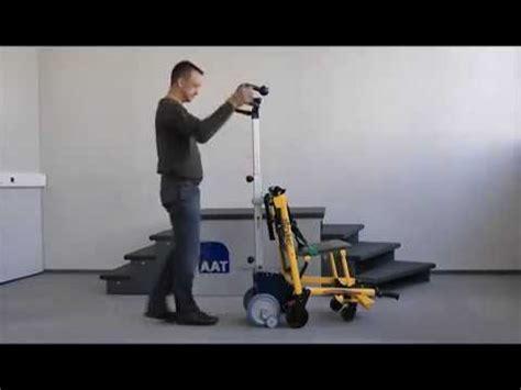 présentation du monte escalier smax adapté sur chaise