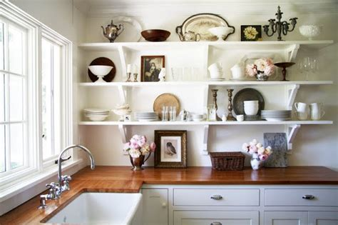 country kitchen shelves sense and simplicity 4 great countertop colours for white 2887