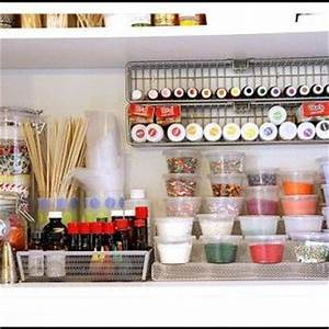 25 best ideas about baking organization on pinterest With what kind of paint to use on kitchen cabinets for cupcake sticker labels