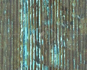 Iron corrugated dirt rusty metal texture seamless 09986