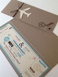Boarding pass wedding invitations with rsvp criolla for Passport wedding invitations with boarding pass rsvp