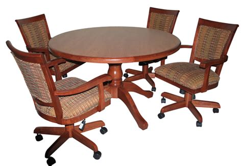 dinette sets with caster chairs alfa dinettes 400 caster set
