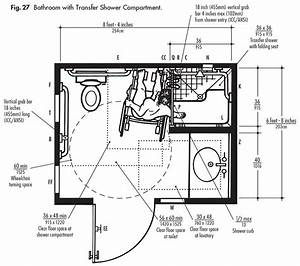 ada design solutions for bathrooms with shower With ansi handicap bathroom standards