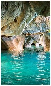 nature, Landscape, Chile, Cave, Lake, Erosion, Turquoise ...