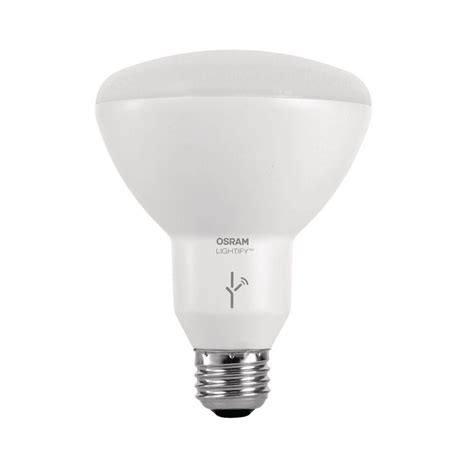 osram sylvania lightify 65w equivalent multi color and tunable white br30 dimmable smart led