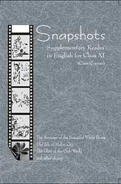 ncert book  class xi snapshots