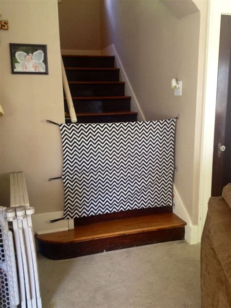 diy fabric baby gate cost   total