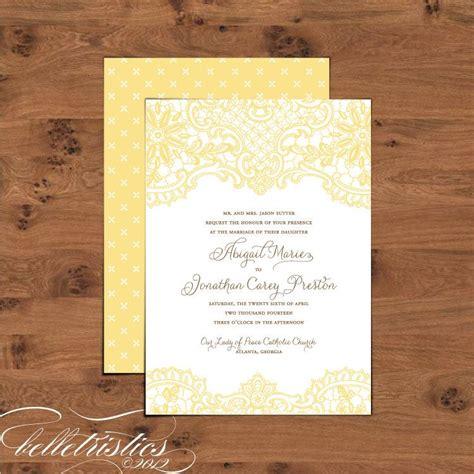 printable diy wedding invitation set hope invite