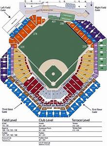 Citizens Bank Park Seating Chart  U0026 Game Information